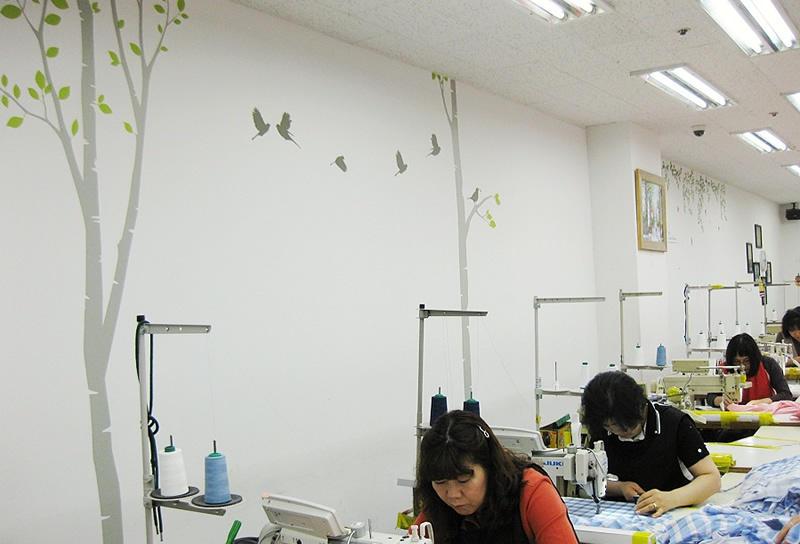 Cut & sew knitwear specialists at F&I Korea