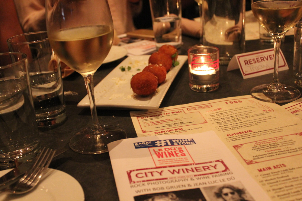 Rock Photography & Wine Pairing. City Winery NYC.