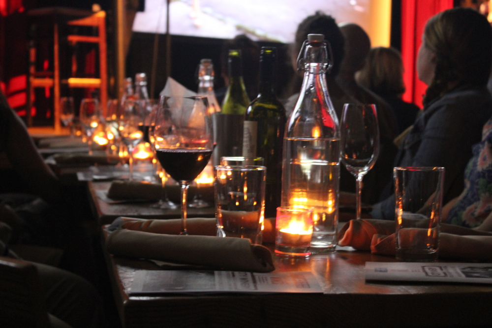 Wine pairings and rock-n-roll. Does it get any better than this? City Winery NYC