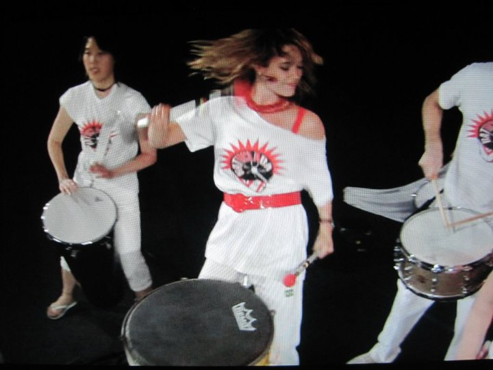 Brazilian drumming with Batuclada