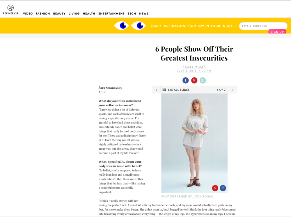 Refinery 29 feature