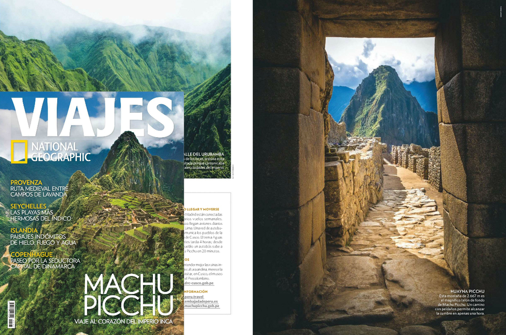 Spanish National Geographic Magazine