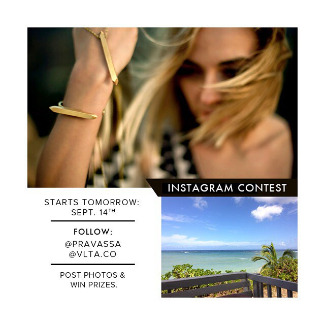 "::|| Love is in the air! ||:: Tomorrow we launch our @Instagram #contest. Get ready to post photos & captions on ""How Oils & Scents Can Enhance Your Travel Experiences"". The contest winner will receive one of our VLTA Turquoise Crystal Vial Necklace (from our SOLD OUT collection!) + a $200 Pravassa #travel certificate.  How to enter: {1} Repost this contest image & tag your friends to participate. {2} Follow & Tag @VLTA.co &  @Pravassa for each photo you post. 3) Share a daily photo & answer the question we've posed for the day. 4) Tag #VLTAforall &  #ChangedByTravel on each post."