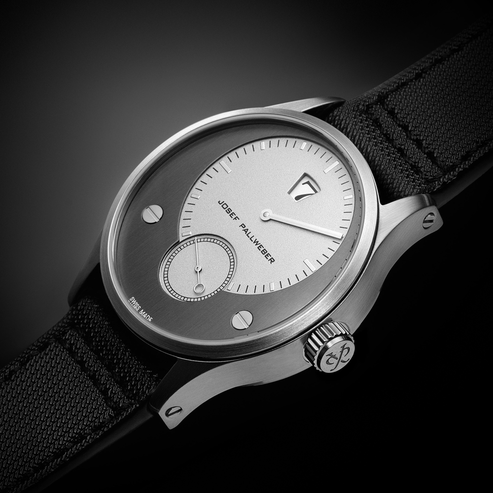 Jump Hour Pallweber Watch Grey