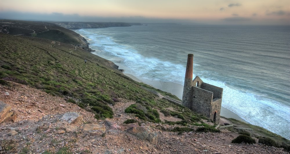 The coast at St Agnes is just one of the locations that we plan to undertake community-based habitat improvements