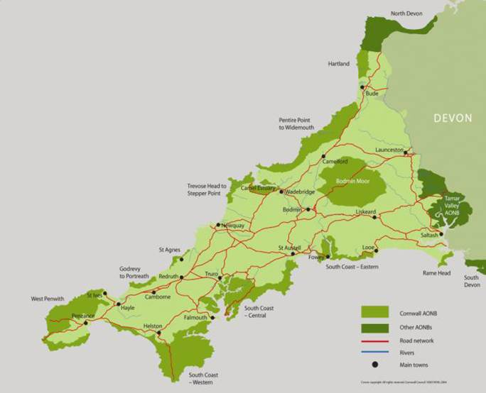 Kerdroya will deliver a hedge restoration in all of 12 sections of the Cornwall AONB