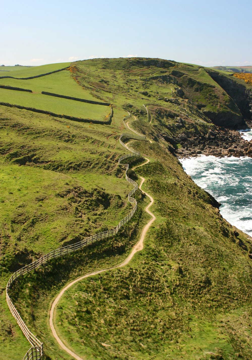 The South West Coast Path is under pressure from coastal change and erosion. Photo: Dave Mathews
