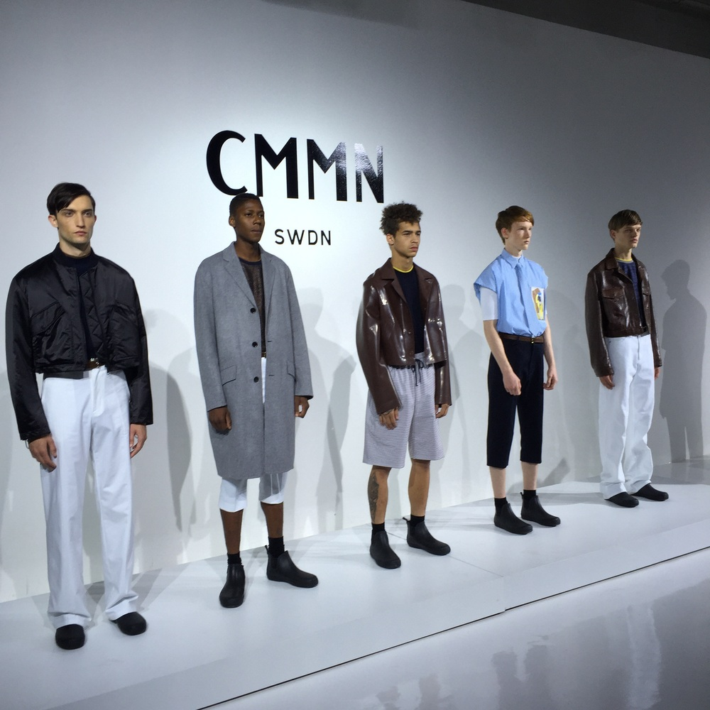 Loose fitted neutrals seamlessly transitioning from winter to spring. #CMMN