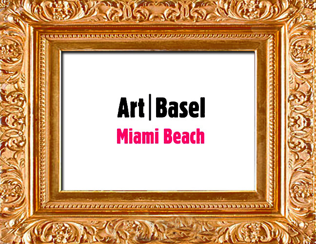 Purchase tickets for the actually art exhibits with the official Art Basel brand. Pay homage to the greats of fine art and get inspired. Click photo to purchase tix.