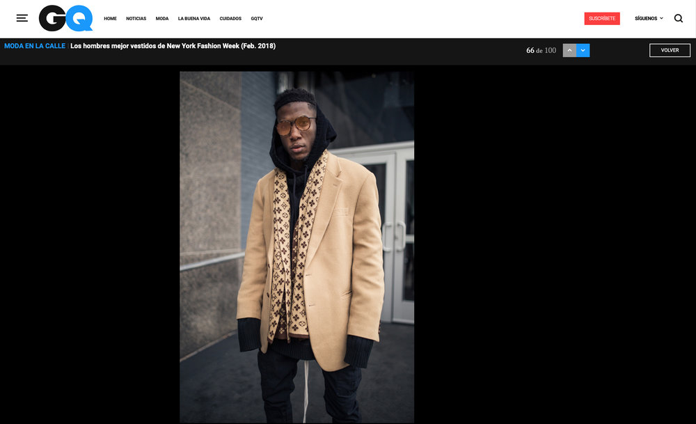 GQ Spain - Street Style Feature