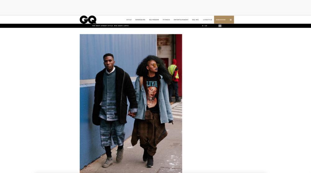 GQ Australia - Best Street Style A/W 18