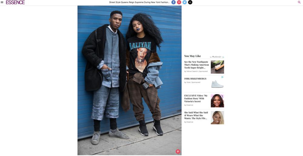 Essence - Fall 2018 Street Style