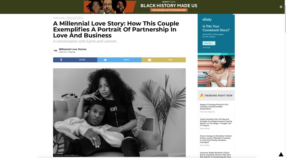 Blavity Millennial Love Stories