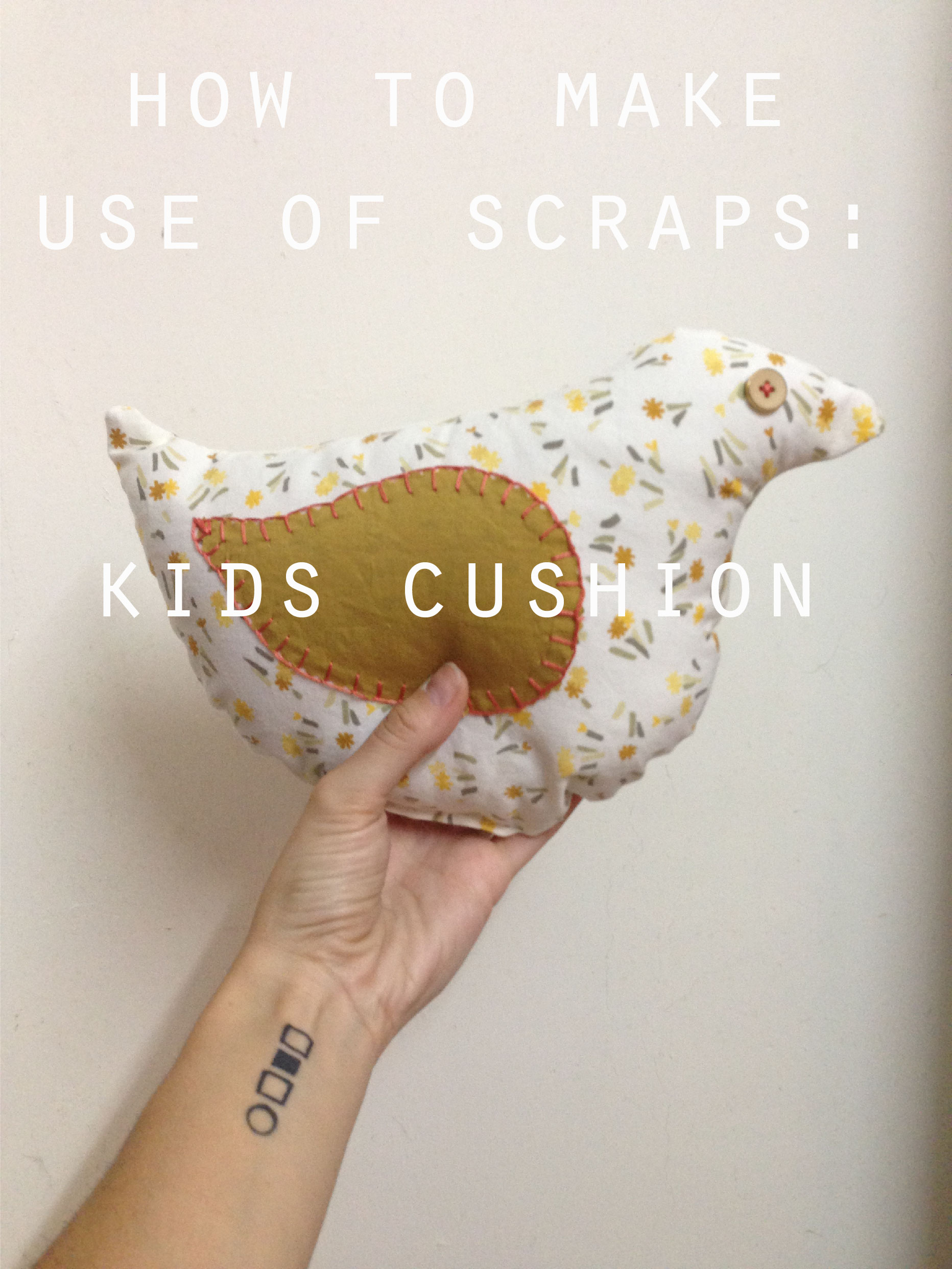 DIY Kids Cushion