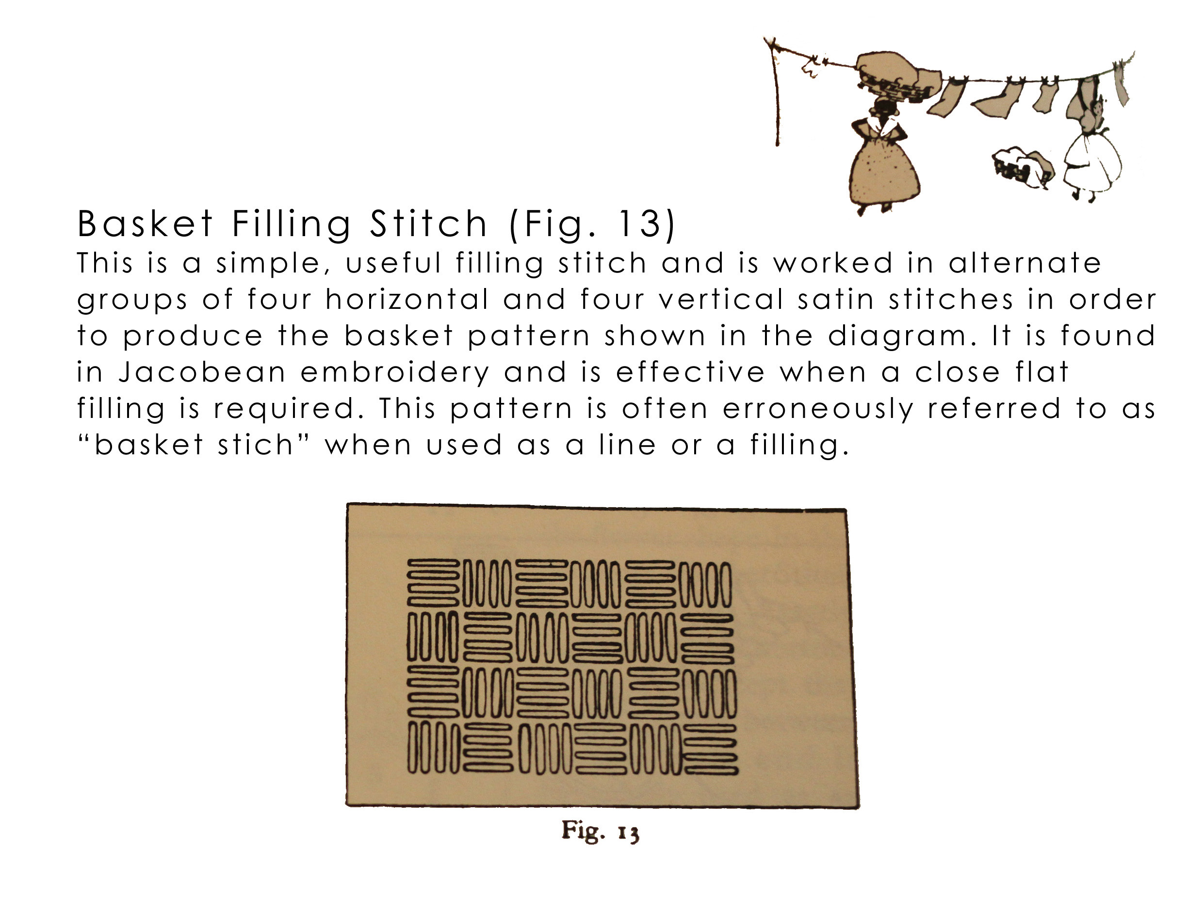 Basketfillingstitch