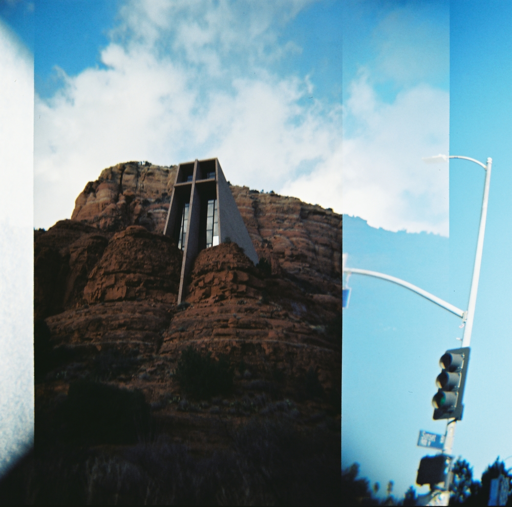 Church near Sedona, Holga