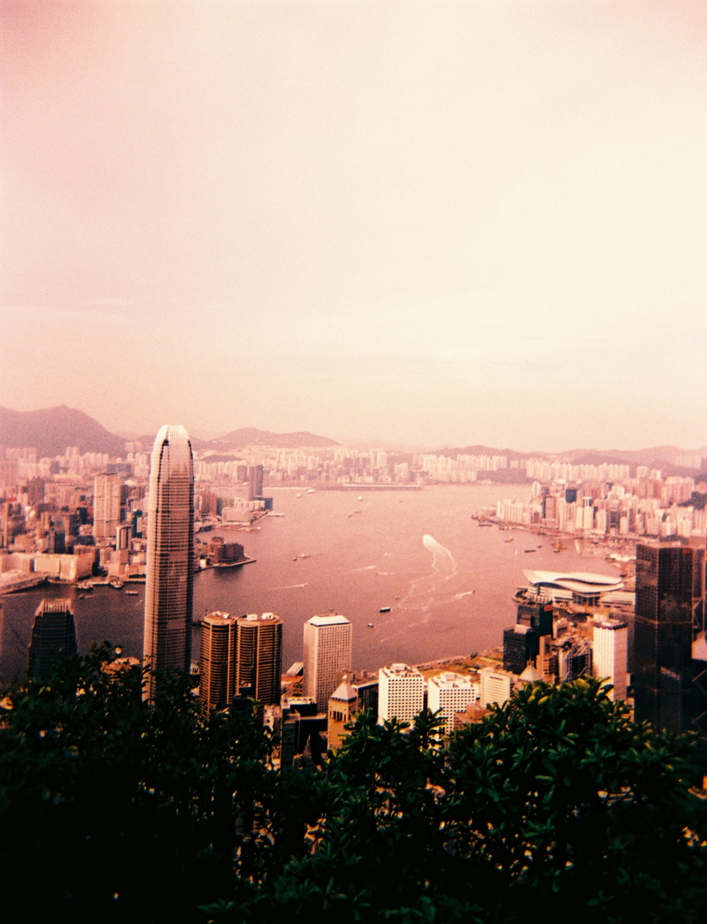 Hong Kong Harbour Holga