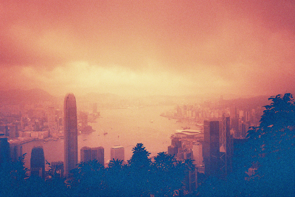 View from Victoria Peak, Hong Kong 2015