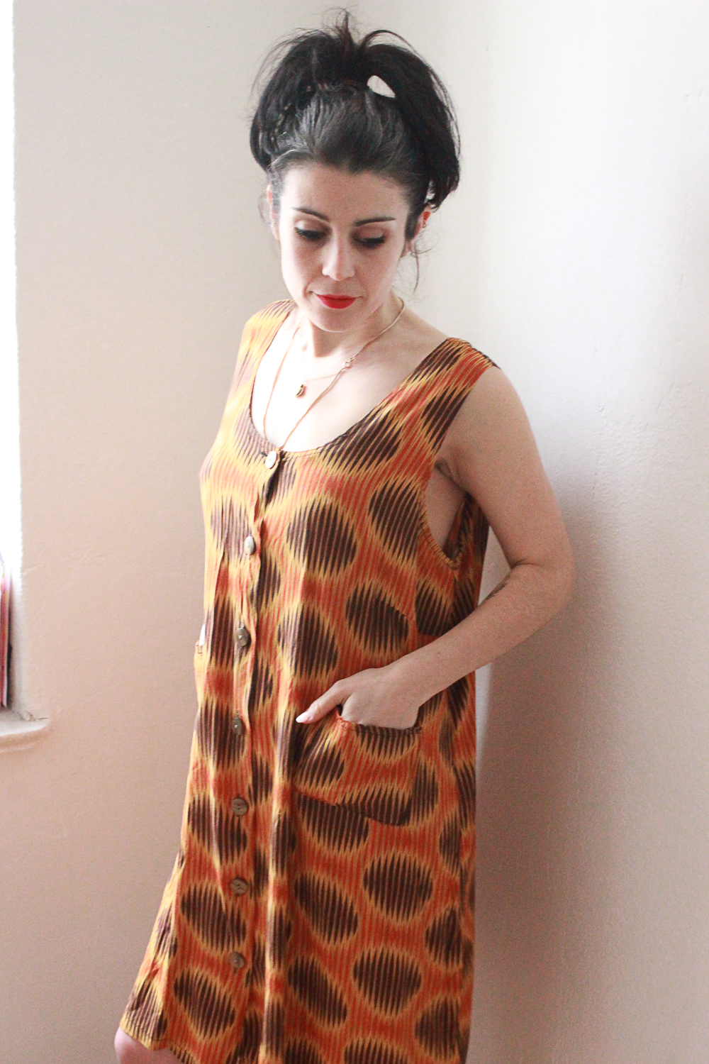 African Style Print Dress