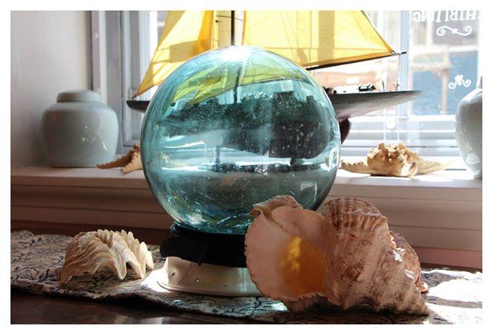 A Glass Fishing-Net Float