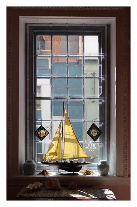 Vintage Yacht Model