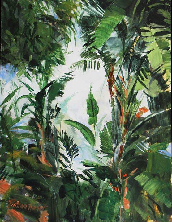 Jungle II   Acrylic on Board   35 x 25cm