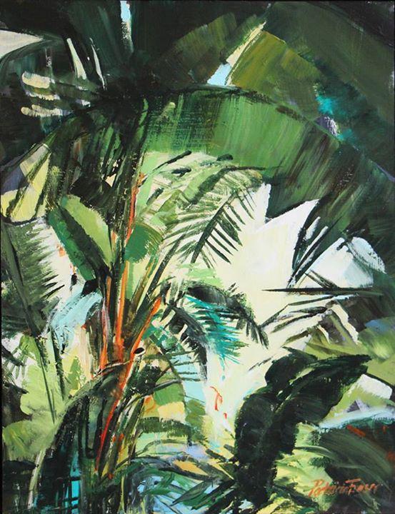 Jungle I   Acrylic on Board   35 x 25cm
