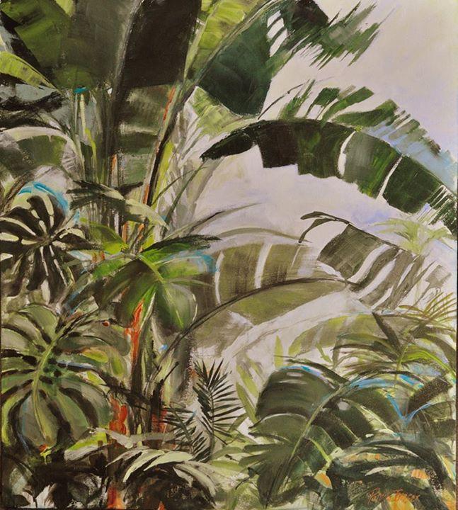 Flourish   Acrylic on Canvas   90 x 80cm