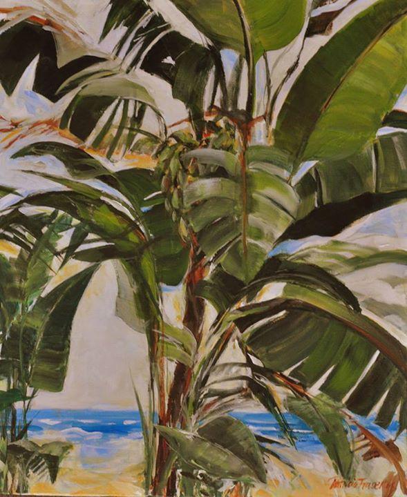 Mntunzini Beach   Acrylic on Canvas   61 x 50,5cm