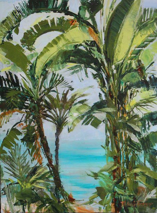 Jungle III   Acrylic on Board   35 x 25cm