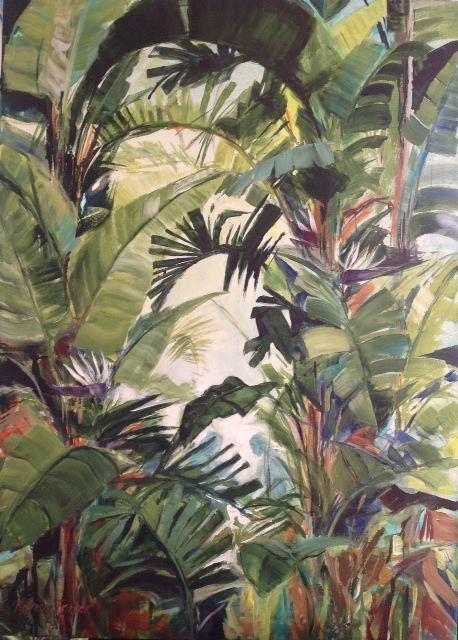 Ceylon Tea   Acrylic on Canvas   70 x 50cm