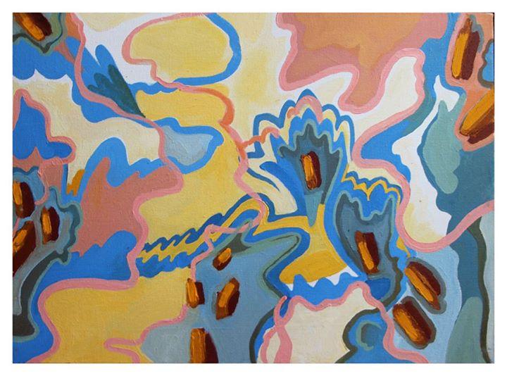'Sunday Morning'   Oil on Canvas   42.5 x 60cm