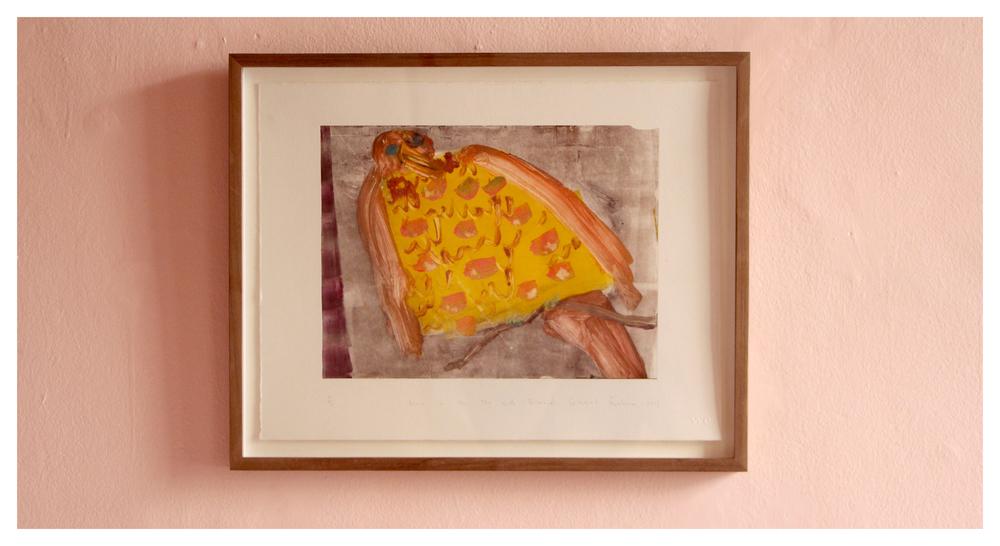 Georgina Gratrix  Lucy in the Sky with Diamonds  Monotype 41 x 50,5 cm R10 500