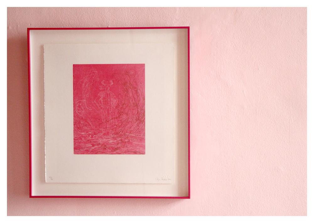 Colijn Strydom  Untitled (44/45)  Etching 46 x 44 cm R4 000