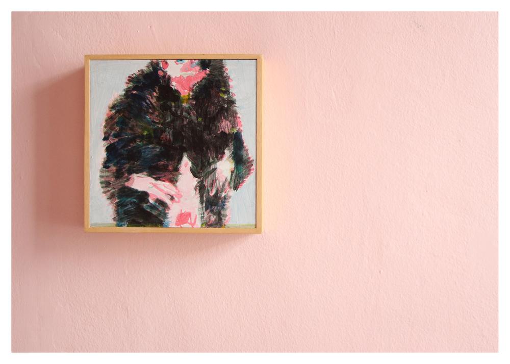 Michael Taylor    Coach    Acrylic on Board   20 x 20 cm   R 8 900