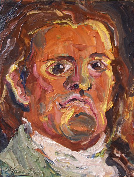 Patricia Fraser  Minister of Finance  Oil on Canvas  41 x 31 cm  4,200.00