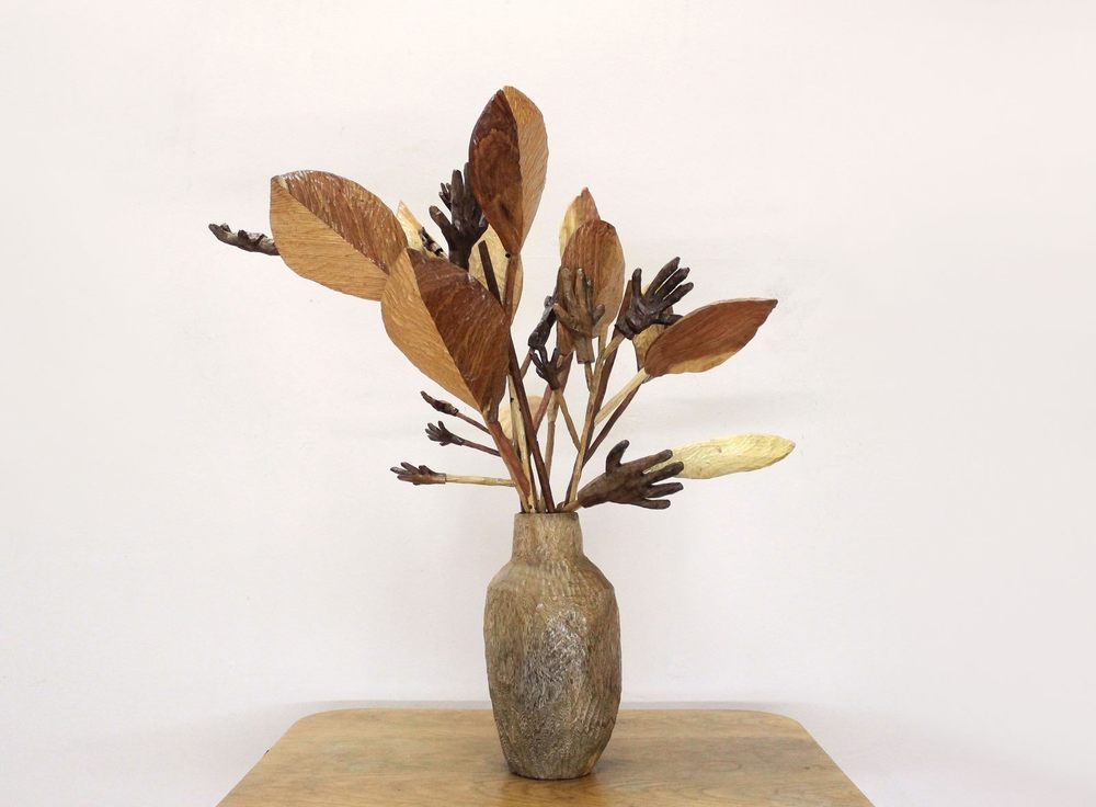 Daniella Mooney    For All the Hands    Mixed Wood Sculpture    R 22 000
