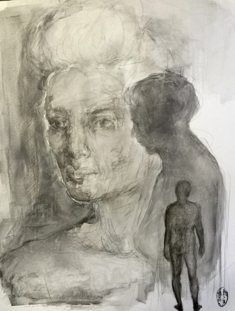 Shany van den Berg    Padloper / Road Walker    Pencil & Graphite on Paper    R 16 500