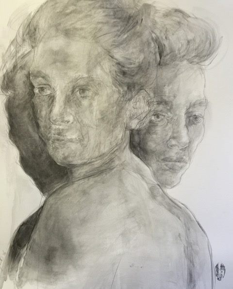 Shany van den Berg    Wentelbaan/Orbit    Pencil & Graphite on Paper    R 16 500