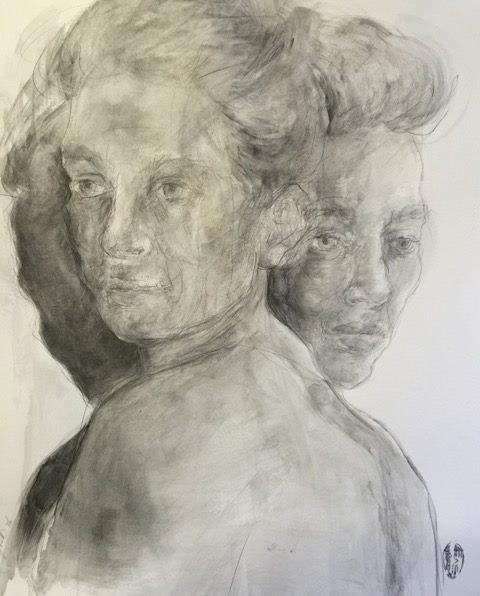 Shany van den Berg    Wentelbaan/Orbit    Pencil & Graphite on Paper    R 16 500