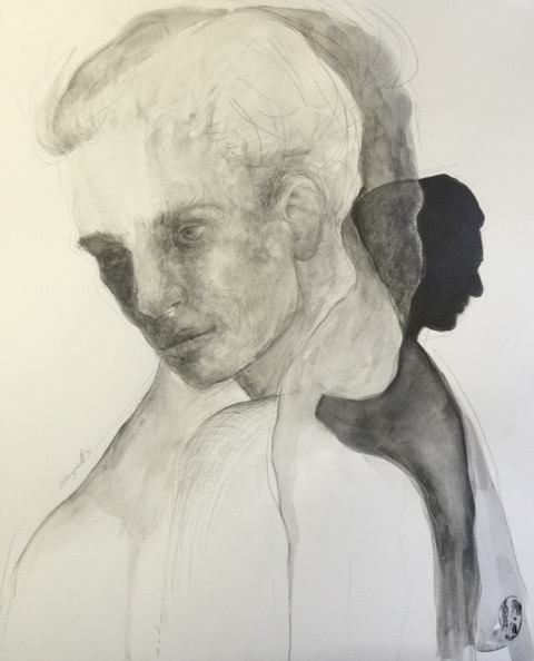 Shany van den Berg    Verweef / Entwined    Pencil & Graphite on Paper    R 16 500