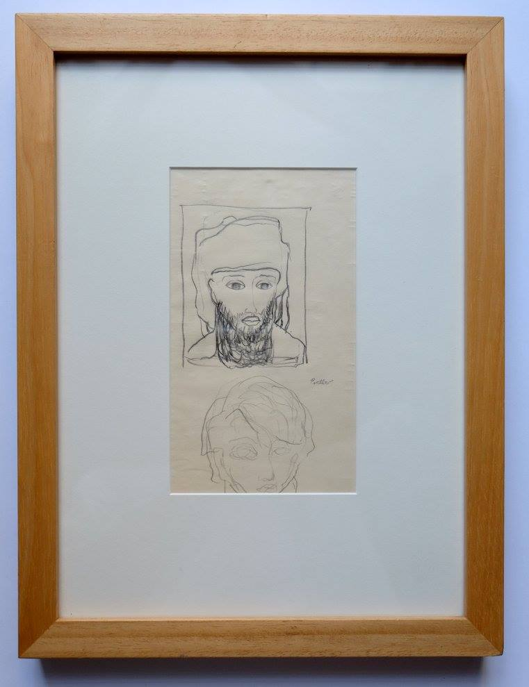 Alexis Preller (1911-1975)    Untitled    Pencil on Paper   39 X 30 cm  R 8 000