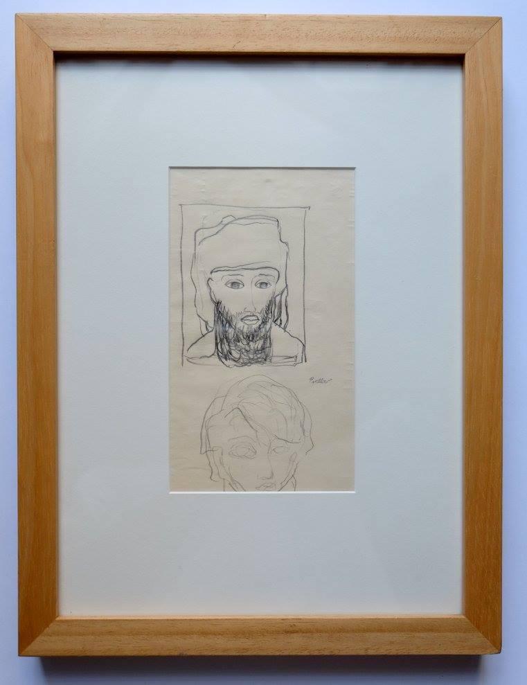 Alexis Preller (1911-1975)    Untitled    Pencil on Paper   39 X 30 cm  R 8 000