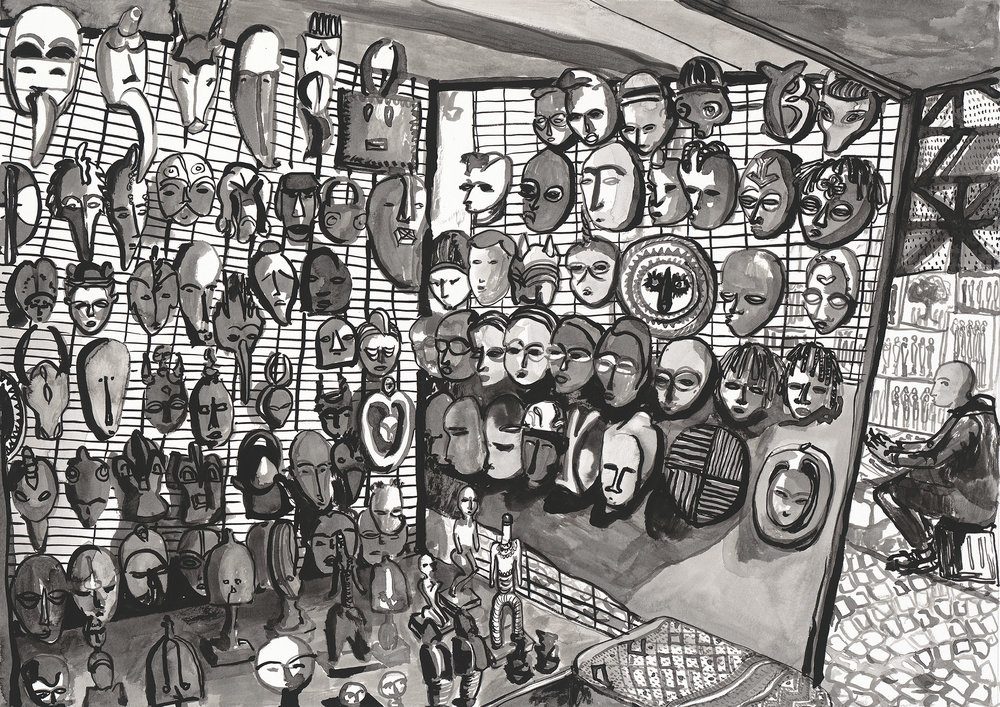 5. Greenmarket Square Masks