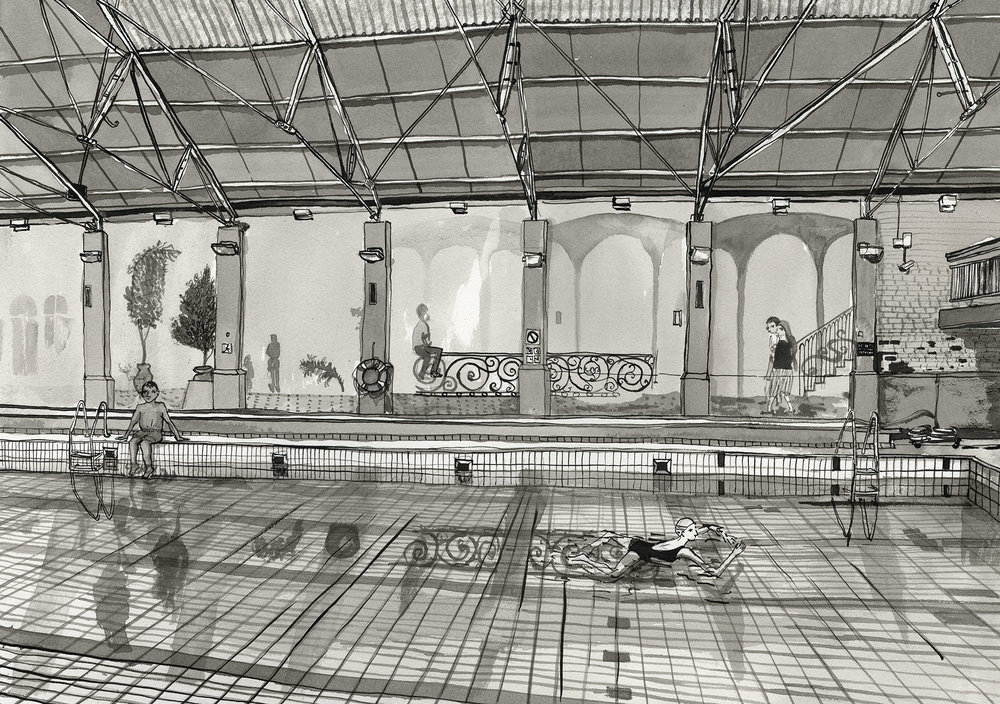 19. Long Street Baths