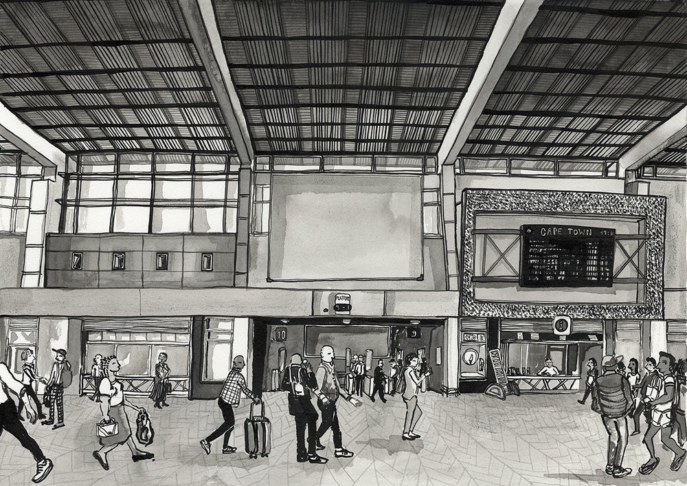 46. The Cape Town Station