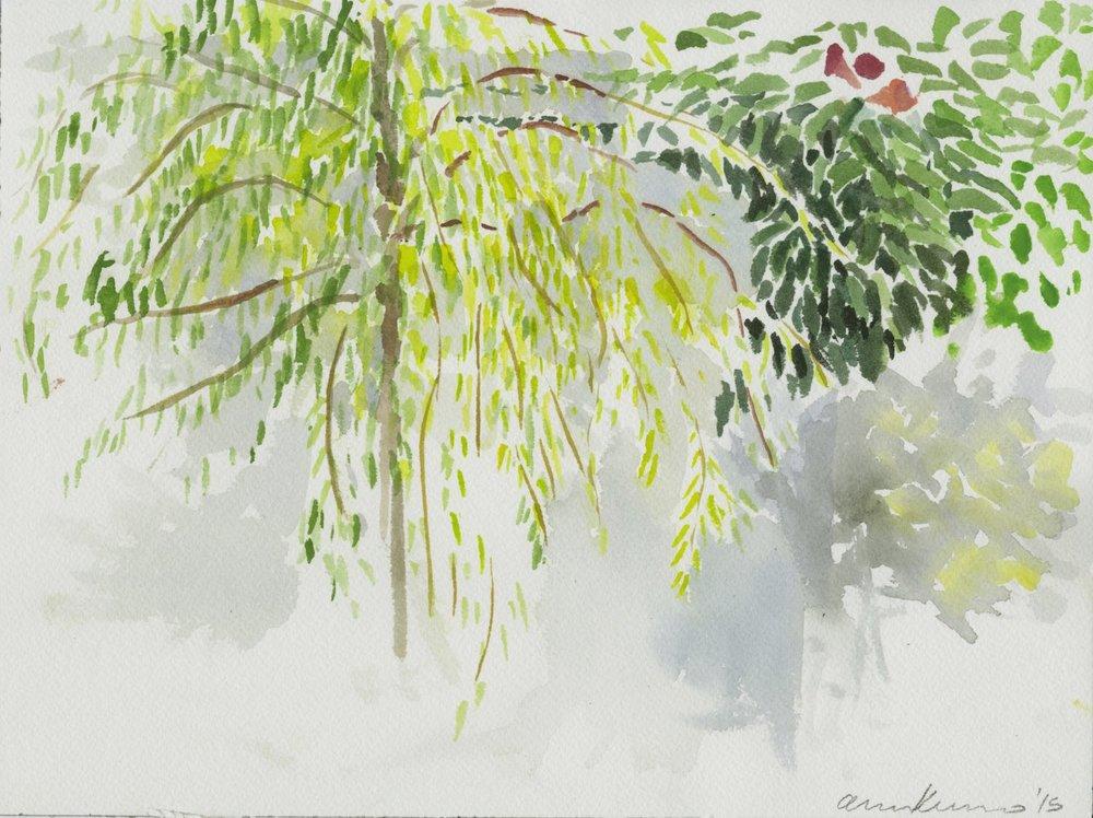 "Alexandra Karamallis ""Abbot Kinney"" Watercolour on Paper 23 x 31cm R4000  R4000"