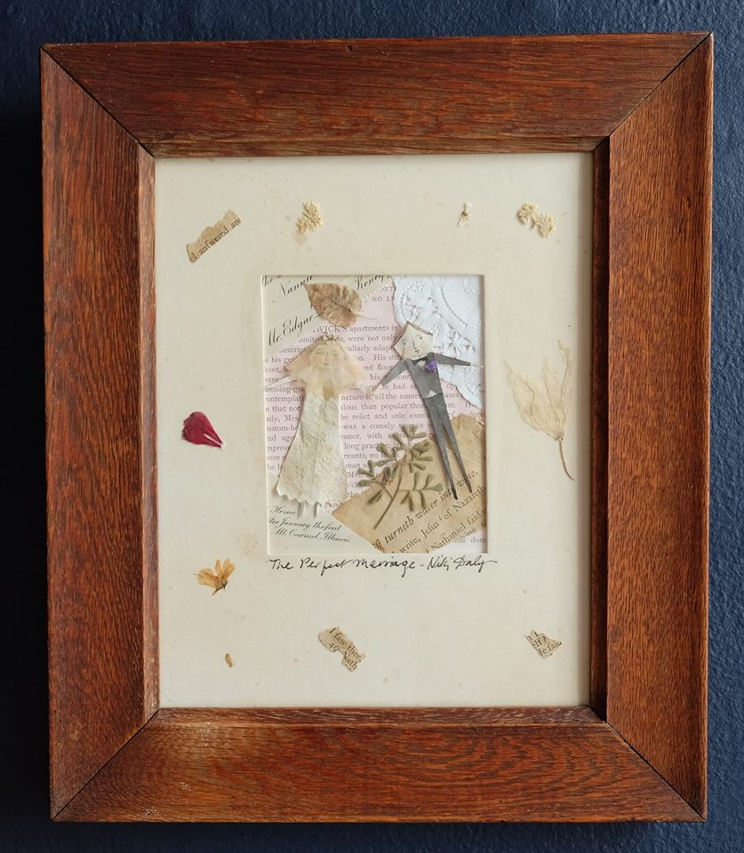 """Niki Daly   """"The Perfect Marriage""""  Mixed Media: Folded Paper & Ink 29,1 x 34,4cm R950"""