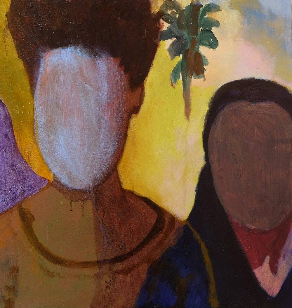 "Lara Feldman ""Repose"" Oil on Panel 50 x 47,5cm R9 600"