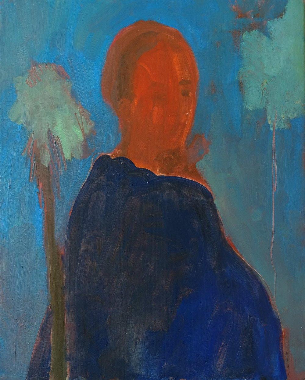 "Chandler House    Like This Page · 1 hr ·    Lara Feldman ""Blue Lady"" Oil on Canvas 50 x 40cm R8 800"
